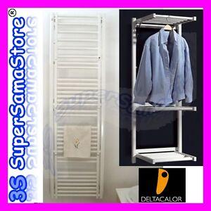 3s nuovo termoarredo scaldasalviette stendy deltacalor 174x51 cm design bagno ebay - Termoarredo design bagno ...