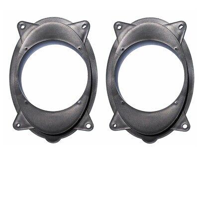 6½ 6.5'' Toyota Factory Speaker Mount Plates Adapters Adaptor Brackets Ring