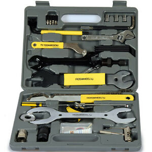 New-Complete-Bike-Bicycle-Repair-Tools-Tool-Kit-Case-Box-Mountain-road-bike
