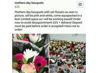 Mothers day bouquets!