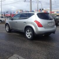 2003 Nissan Murano AWD,safety e/t+24month warranty included