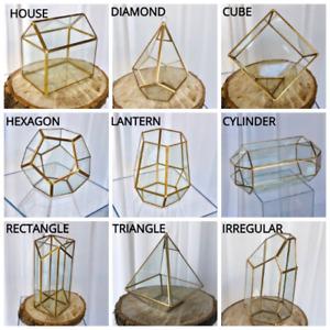 Glass Geometric Terrarium/ Wedding Table Decor