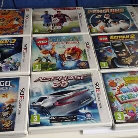 3ds games £10each or 3 for £25