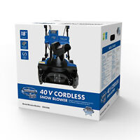 July 7 - New in Sealed Box Snow Joe Cordless Snow Blower