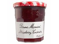 Empty Bonne Maman Jam Jars (x29)