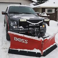 2010 Ford F-150 FX4 with Boss HTX-V Plow