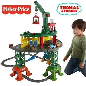 OB THOMAS  FRIENDS PLAYSET TRAIN FPM59 244765328 Fisher-Price Thomas and Friends Super Station OPEN BOX