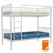 new single bunk beds white colour pickup or delivery available Old Guildford Fairfield Area Preview