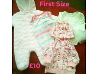 First Size Baby Girl Bundle