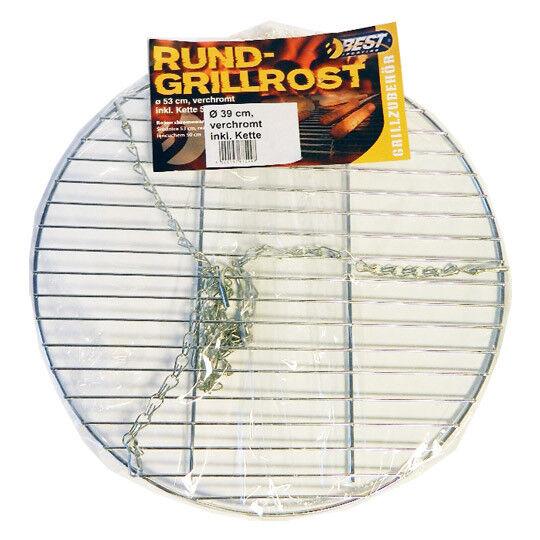Best Sporting Grillrost rund 39cm inkl. Aufhängungs-Kette mit Haken