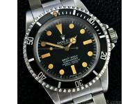Wanted rolex gold silver diamond any watch top price paid