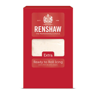 Renshaw Extra Ready to Roll Icing - 1kg White
