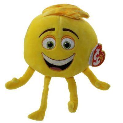 """TY Beanie Baby 6"""" GENE the Emoji Movie Plush Stuffed Animal Toy w/ Ty Heart Tags"""