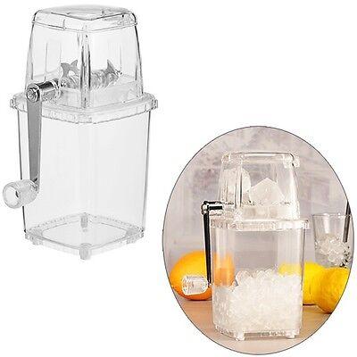 Eis-Crusher Eiscrusher Ice Zerkleinerer mit praktischer Handkurbel 14x11x23