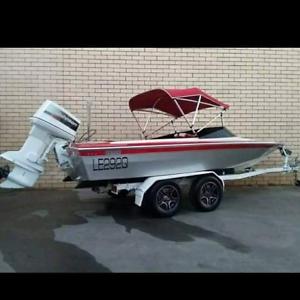 Ski Boat and trailer