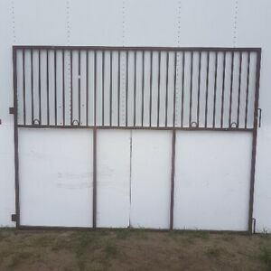 horse stall side panels 10 ft