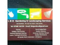 LBD LANDSCAPING & TREE WORK