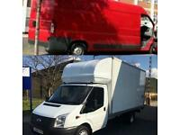 24-7 Big Luton Van  & Man Hire for moving House, Piano ,Office Removal & clearance