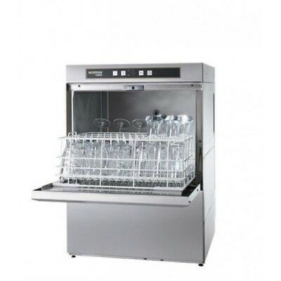 Hobart G504S Ecomax Glasswasher with Drain Pump & Water Softener (Boxed New)