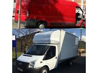 24-7 Big Luton Van  & Man Hire for moving House, Office, Piano Removal & clearance