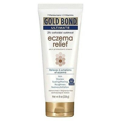 Gold Bond Ultimate Eczema Relief Hand Cream 8 Oz