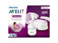 NEW in BOX philips avent single electric breastpump