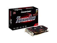 AMD PowerColor TurboDuo OC 280X 3Gb Graphics Card