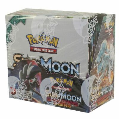 Pokemon Guardians Rising Booster Box 36 Packs