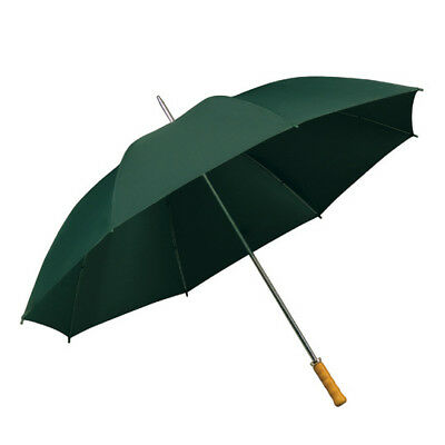 IMPLIVA XXL 130 CM Damen Schirm Stockschirm Regenschirm Umbrella, grün