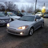 2008 Hyundai Tiburon CERTIFIED- GS AUTO COLD A/C ROOF ALLOYS