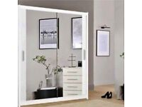 🤪🤪HUGE SALE ON BRAND NEW🤪🤪 IMPORTED MIRRORED SLIDING DOORS WARDROBES👌CASH ON DELIVERY🚚🚚