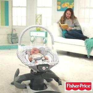 NEW FISHER PRICE ROCK 'N GLIDE SOOTHER 4-IN-1 FISHER PRICE BABY - GLIDER GLIDERS SWING SWINGS ROCKER ROCKERS RECLINING