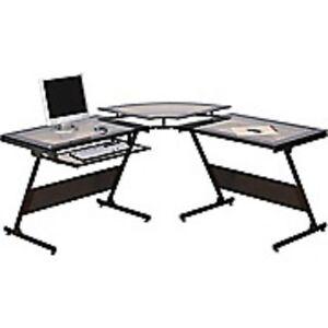 Bureau d'ordinateur en L Delano