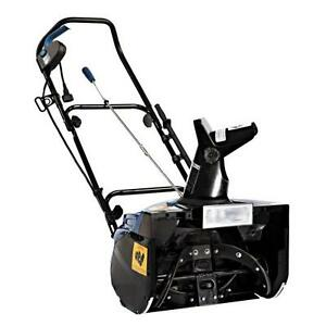 15 Amp Ultra Electric Snow Blower with Light & 18-inch Clearing