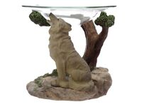 Spirit of the Forest Protector of the North Wolf Oil Burner.
