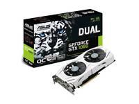 ASUS GeForce DUAL-GTX1060--O6G 6 GB