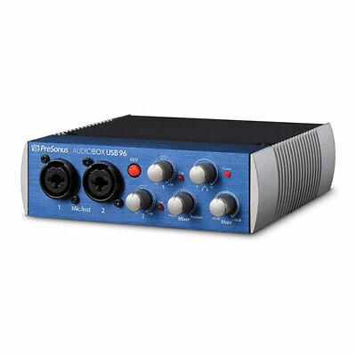 PreSonus AudioBox USB® 96, 2x2 USB Audio Interface for Musician, Producer, Podca