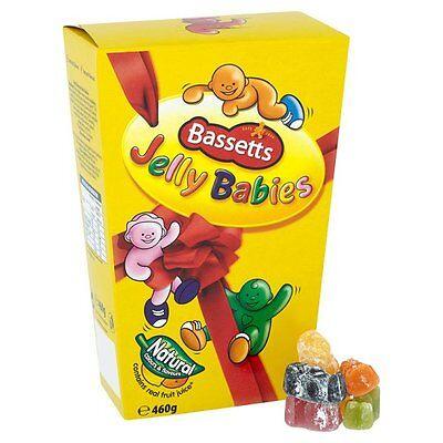 Bassetts Jelly Babies Carton 400 (14.1 Oz) - Free Shipping to USA