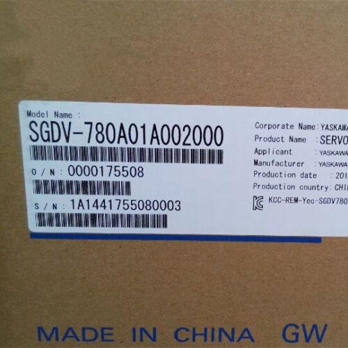1PC NEW Yaskawa SGDV-780A01A002000