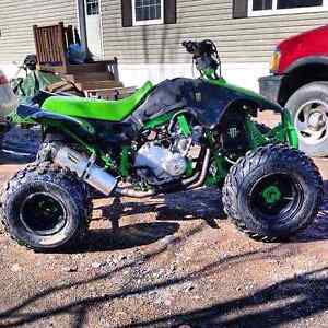 Looking to trade for a dirt bike