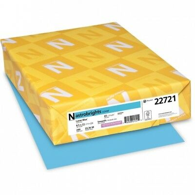 Neenah Paper 22721 Colored Cardstock 65lb 8-12 X 11 Lunar Blue 250 Sheets