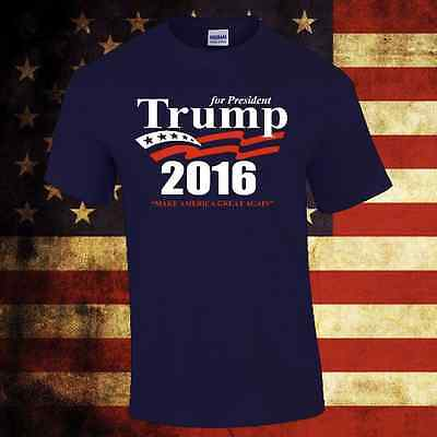 Trump 2016 For President Election T Shirt Tees Republican Political New S 3Xl