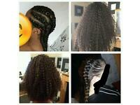 Crochet braids /weaves /box braids