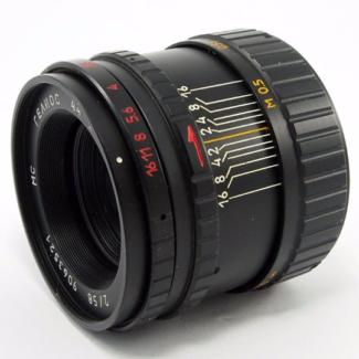 Helios 44-3 Lens 58mm f2.0