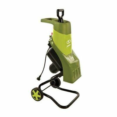 Sun Joe 14-Amp Electric Wood Chipper/Shredder, Green, CJ601E Power