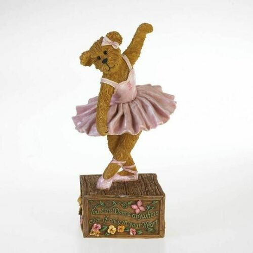 BOYDS RESIN BEARSTONE FIG - GRACE E TWINKLETOES ... DANCE TO THE STARS