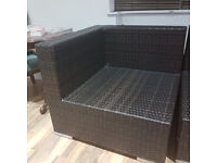 Outdoor patio furniture - 2 chairs in perfect condition. ONLY £64 for two.
