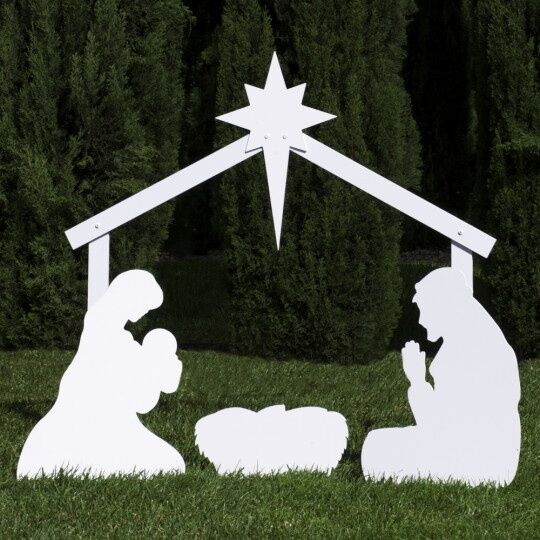 Outdoor Nativity Store Silhouette Outdoor Nativity Set