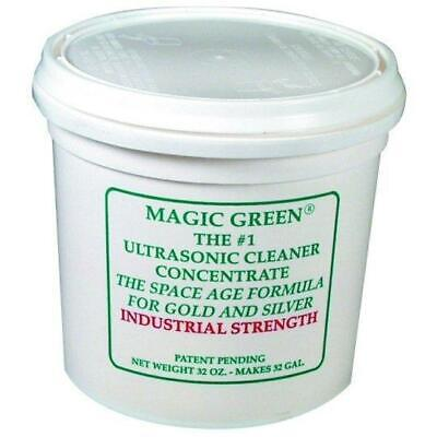 Magic Green Ultrasonic Cleaning Concentrate - 8 oz.makes 8 gallons of solution