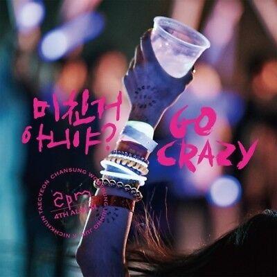 2PM [GO CRAZY] 4th Album CD+52p PhotoBook K-POP SEALED